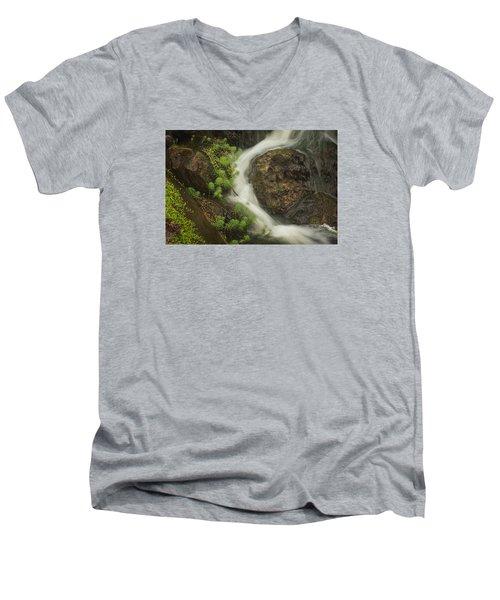 Flowing Stream Men's V-Neck T-Shirt