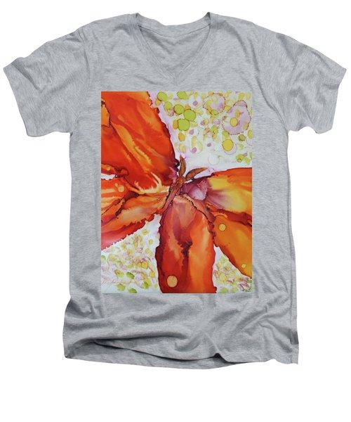 Flutter Men's V-Neck T-Shirt
