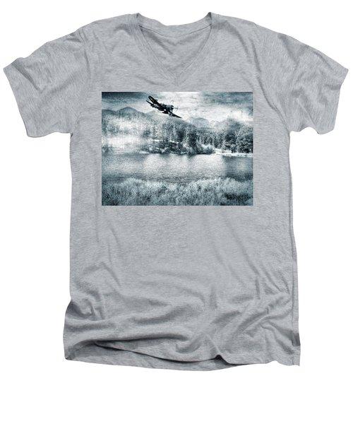 Fly Boy Men's V-Neck T-Shirt