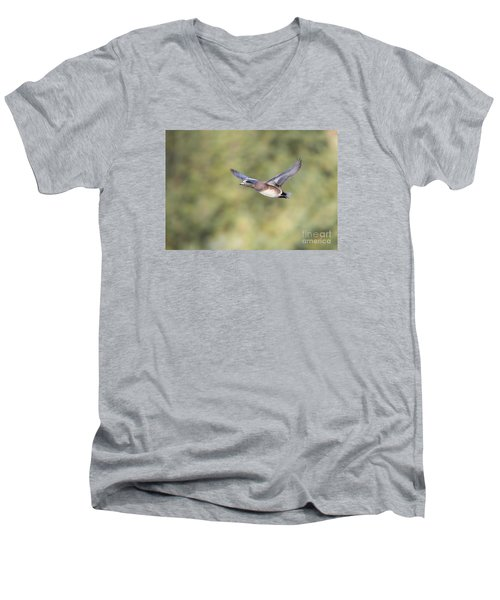 Fly By Men's V-Neck T-Shirt