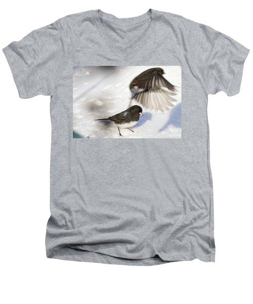 Fly By Men's V-Neck T-Shirt