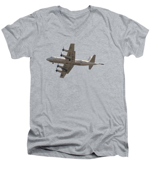 Fly Navy T-shirt Men's V-Neck T-Shirt