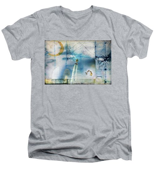 Flyboard - Freestyle Men's V-Neck T-Shirt