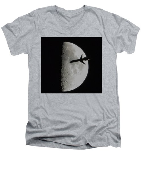Flyby Men's V-Neck T-Shirt