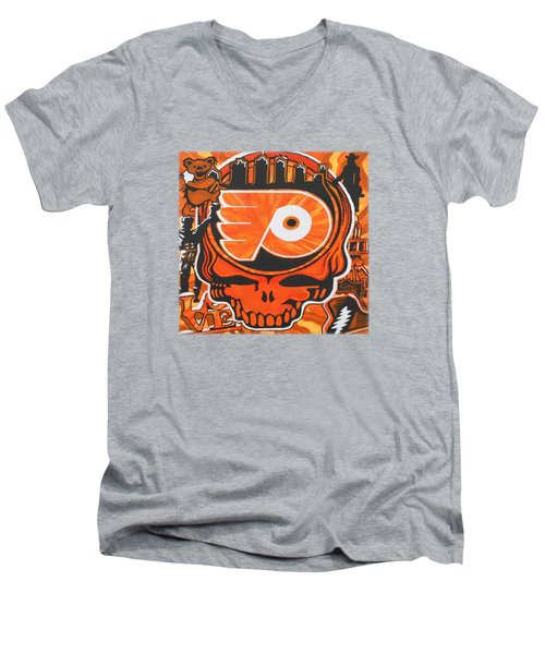 Flyer Love Men's V-Neck T-Shirt