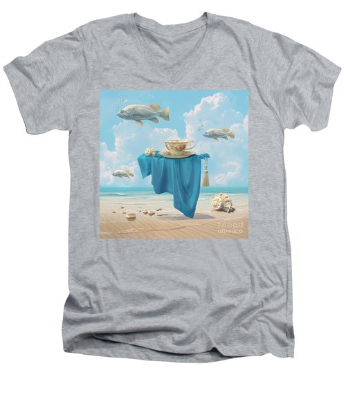 Flying Fish Men's V-Neck T-Shirt