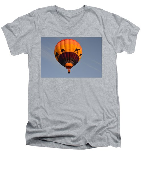 Flying High Men's V-Neck T-Shirt