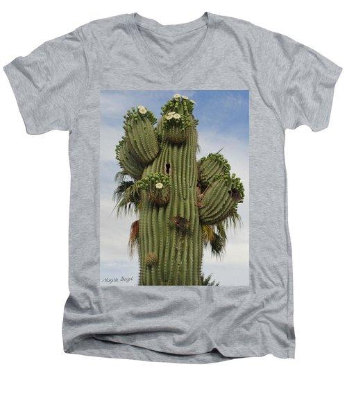 Flying Home Men's V-Neck T-Shirt