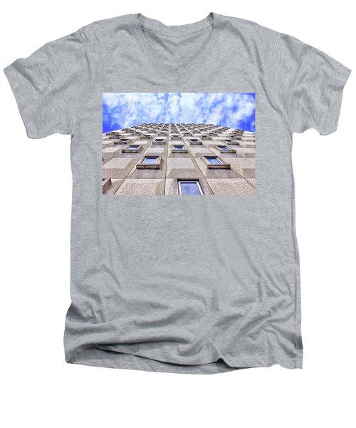 Flying Like A Bird Men's V-Neck T-Shirt