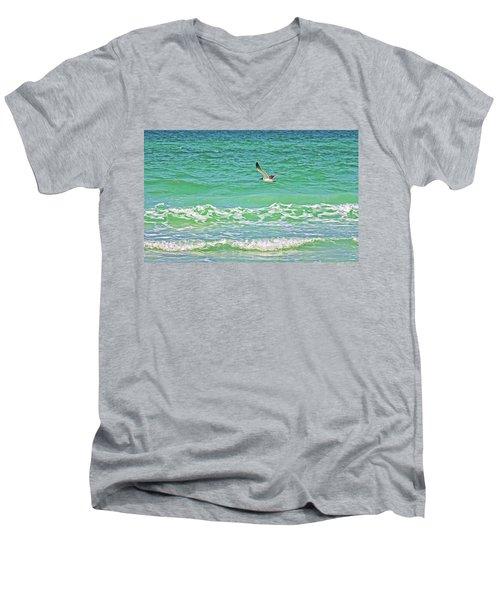 Flying Solo Men's V-Neck T-Shirt