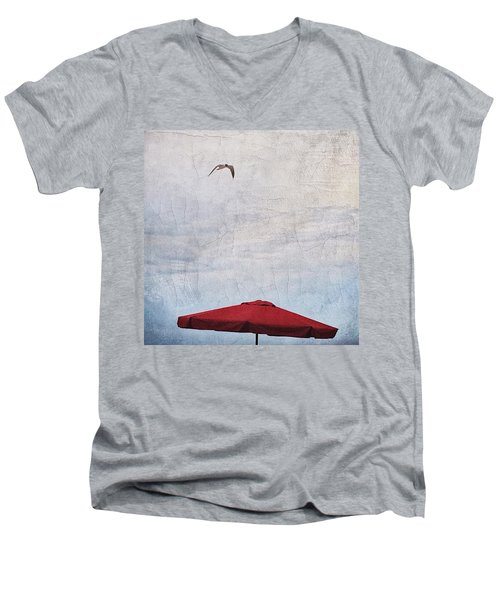 Flyover Men's V-Neck T-Shirt