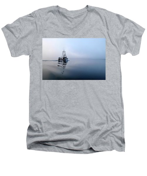 Foggy Men's V-Neck T-Shirt