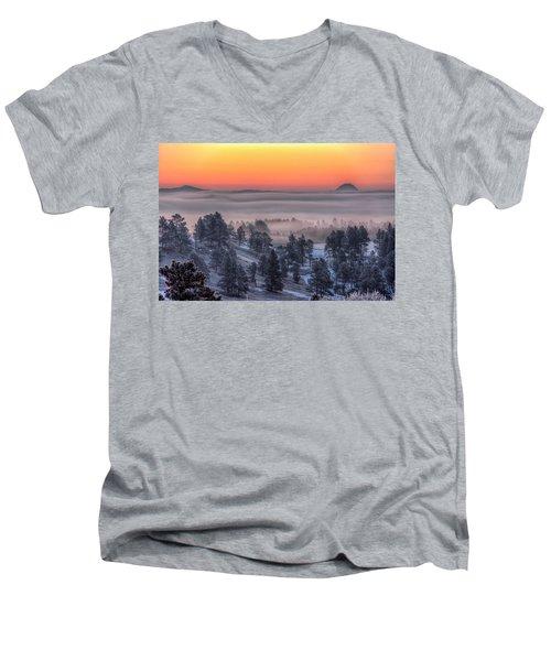 Foggy Dawn Men's V-Neck T-Shirt