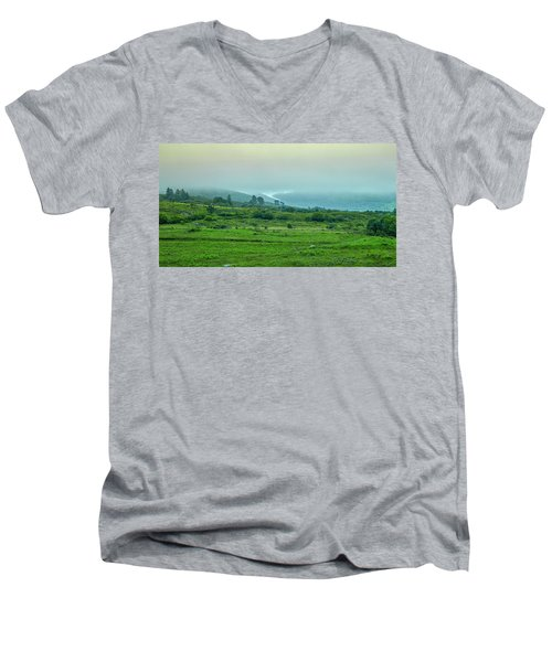 Foggy Day #g0 Men's V-Neck T-Shirt