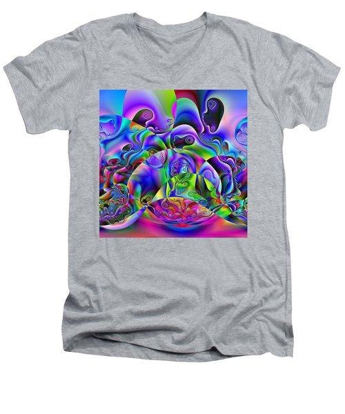 Foistences Men's V-Neck T-Shirt