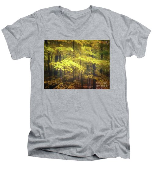 Foliage Freeman Men's V-Neck T-Shirt