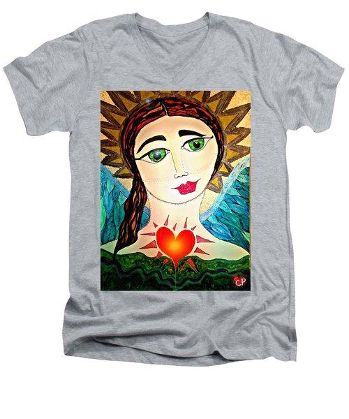 Folk Athena Men's V-Neck T-Shirt