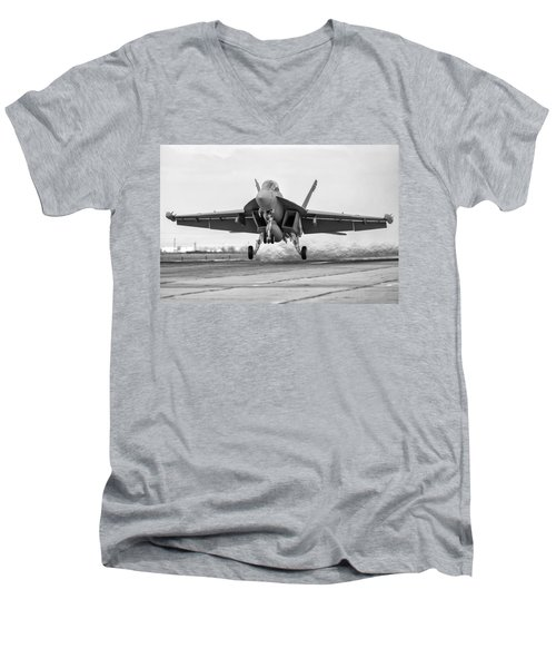 Follow The Bouncing Growler Men's V-Neck T-Shirt