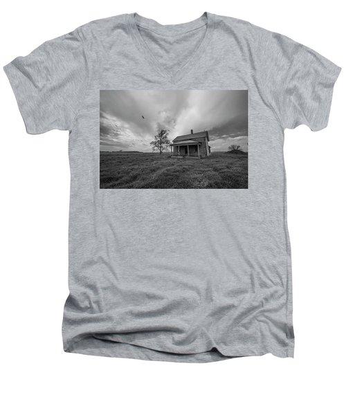 Follow The Buzzards Men's V-Neck T-Shirt