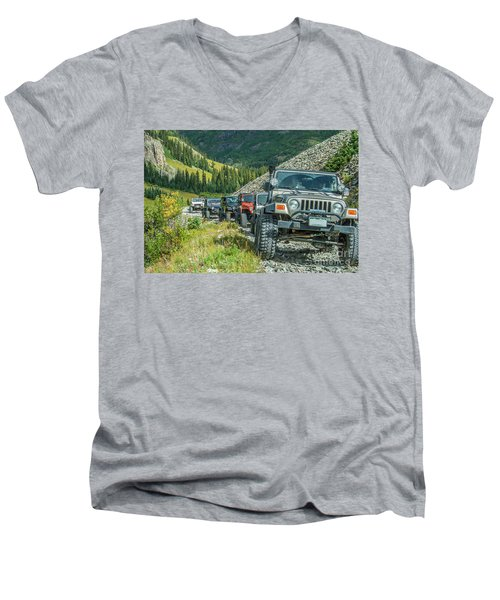 Follow The Leader Men's V-Neck T-Shirt