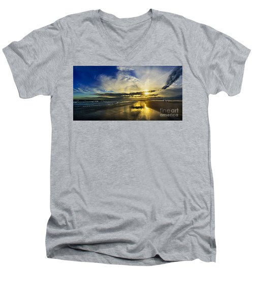 Follow The Sun Men's V-Neck T-Shirt