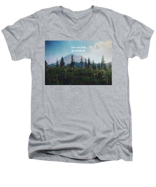 Follow Your Dreams Men's V-Neck T-Shirt
