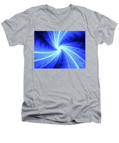 Fomalhaut Men's V-Neck T-Shirt by Kim Sy Ok
