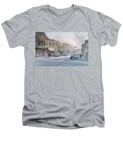 Fond Du Lac - Downtown Men's V-Neck T-Shirt