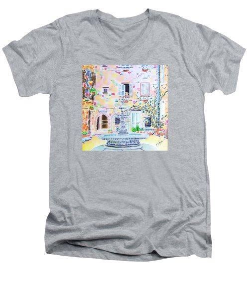 Fontaine Men's V-Neck T-Shirt