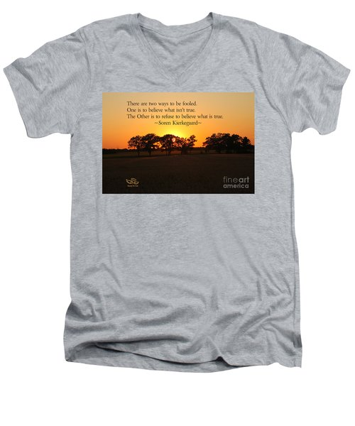 Fooled Men's V-Neck T-Shirt