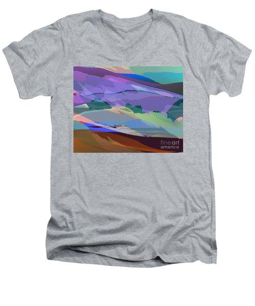 Foothills Men's V-Neck T-Shirt