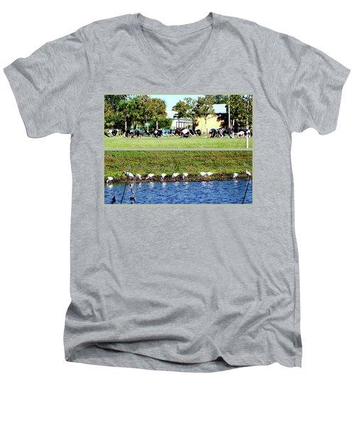 For All Species Men's V-Neck T-Shirt