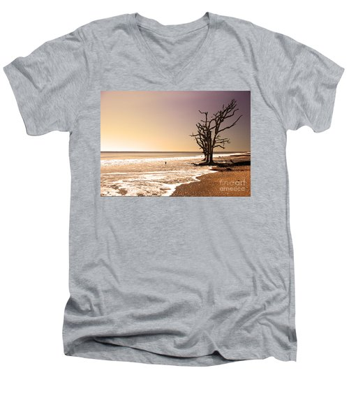Men's V-Neck T-Shirt featuring the photograph For Just One Day by Dana DiPasquale