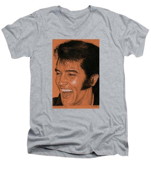 For The Good Times Men's V-Neck T-Shirt