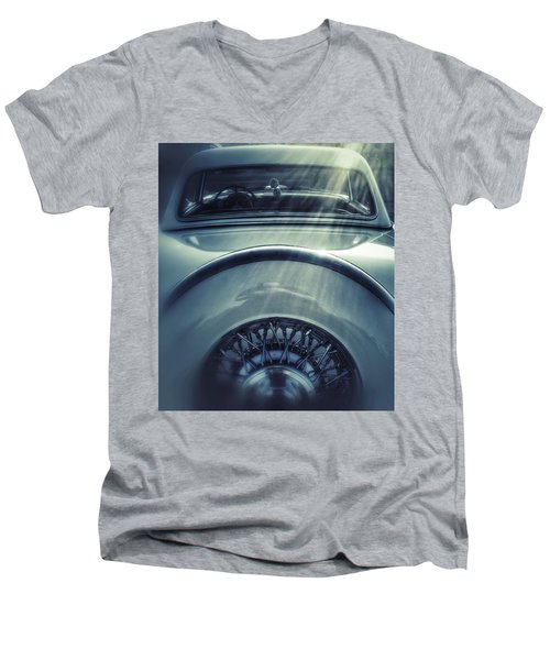 Ford Thunderbird Back Window 3 Men's V-Neck T-Shirt