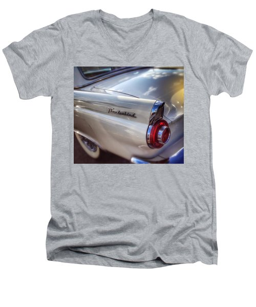 Ford Thunderbird Fender Color 2 Men's V-Neck T-Shirt