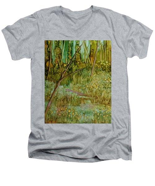 Forest Deep Men's V-Neck T-Shirt