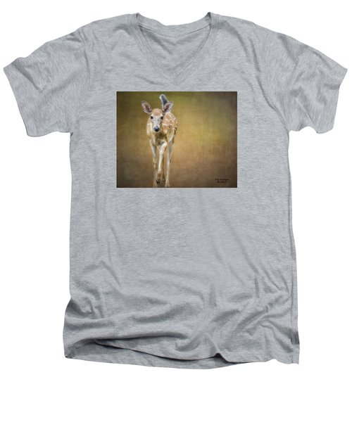 Forest Fawn Men's V-Neck T-Shirt