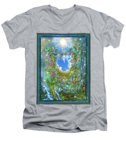 Forest Force Men's V-Neck T-Shirt