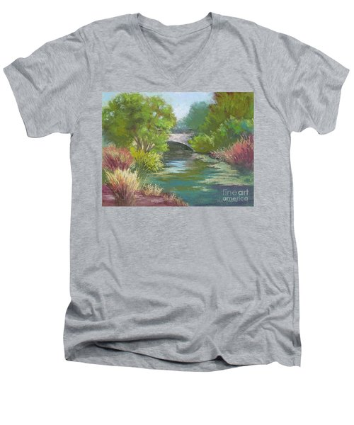 Forest Park Bridge Men's V-Neck T-Shirt