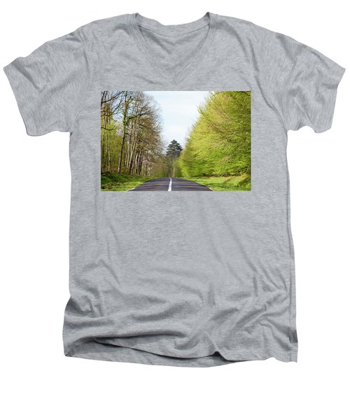 Forest Road Men's V-Neck T-Shirt