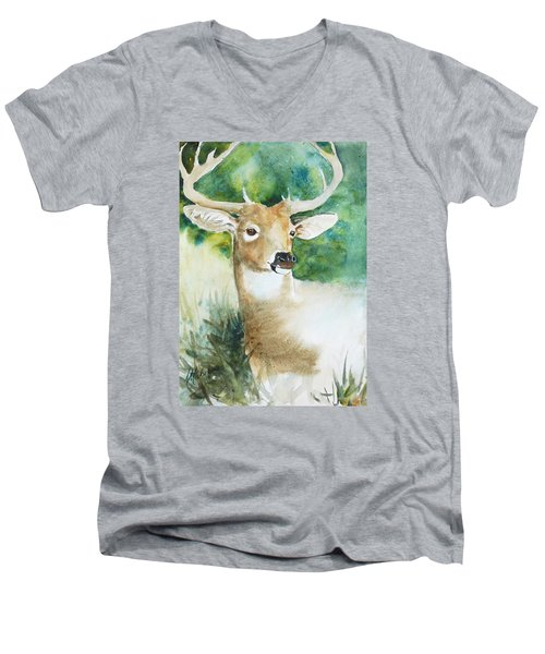 Forest Spirit Men's V-Neck T-Shirt