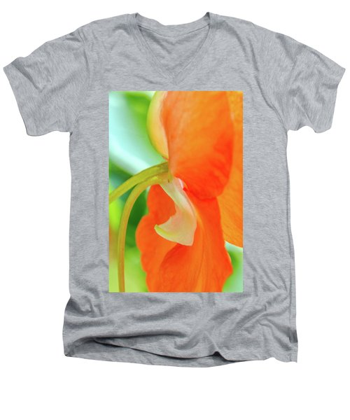 Men's V-Neck T-Shirt featuring the photograph Forget Me Not by Bill Gallagher