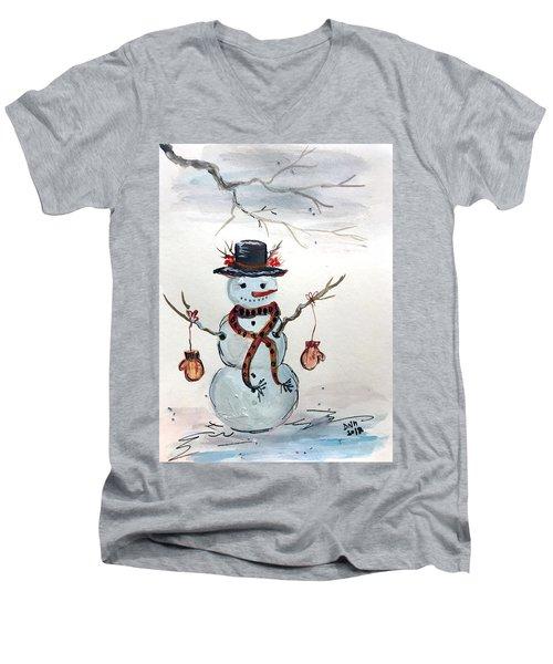 Forgot Your Mittens? Men's V-Neck T-Shirt