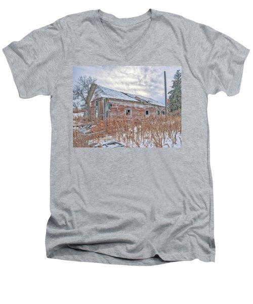 Forgotten Barn Men's V-Neck T-Shirt