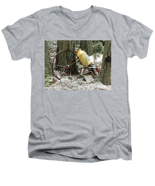 Forgotten By Time Men's V-Neck T-Shirt