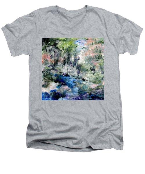 Forgotten Creek  Men's V-Neck T-Shirt