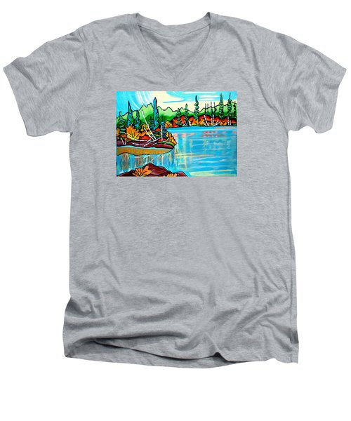 Forgotten Lake Men's V-Neck T-Shirt