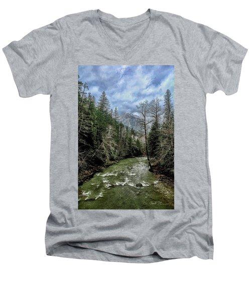 Forgotten Mountain Men's V-Neck T-Shirt