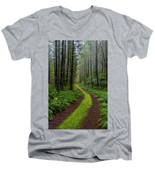 Forgotten Roads Men's V-Neck T-Shirt